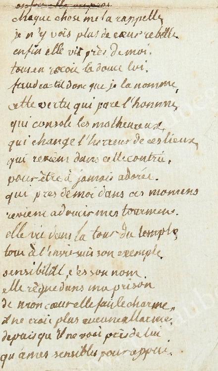 Ecrits de Marie Thérèse Charlotte, Madame Royale Tumblr39
