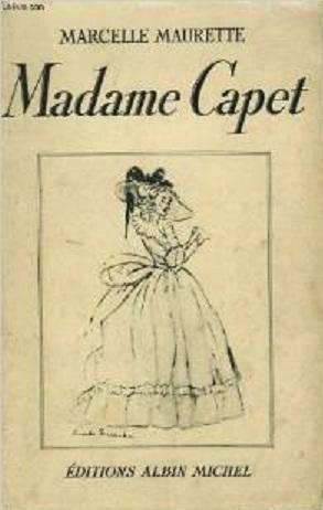 """""""Madame Capet"""", par Marcelle Maurette Tylych11"""