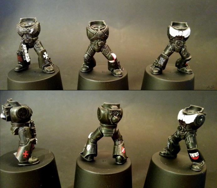 "Ehrwürdiger ""Black Templar"" Cybot *Loro*  K800_216"