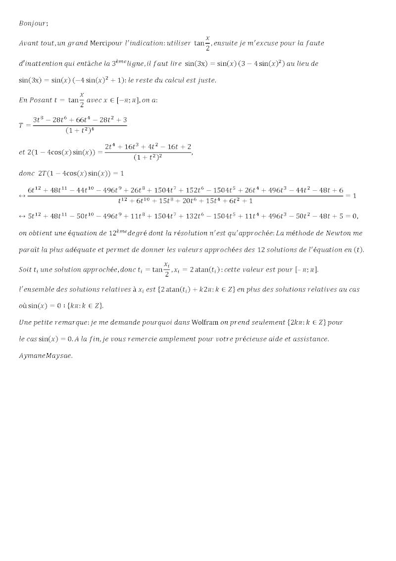 belle équation trigo Oeil210