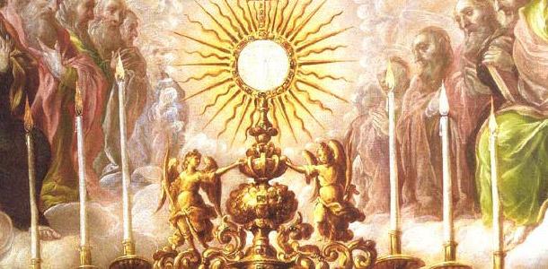 Naissance de Jésus notre Seigneur, vision de Maria Valtorta Euchar10