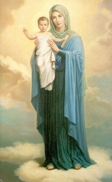 Naissance de Jésus notre Seigneur, vision de Maria Valtorta - Page 2 Marie_12