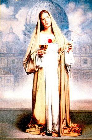 Naissance de Jésus notre Seigneur, vision de Maria Valtorta - Page 2 Marie_14