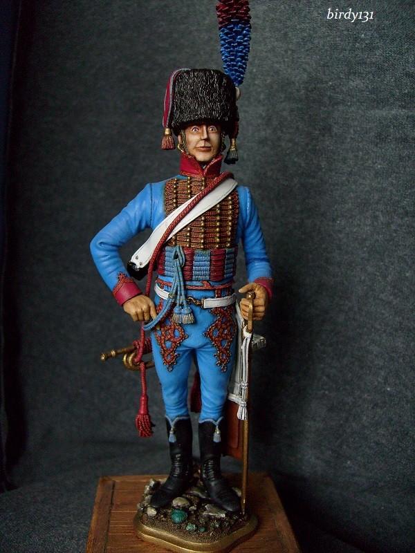 vitrine birdy131 (Ier empire 54 et 90 mm & 14/18 ) Officier de la Jeune Garde (MM) S7301811