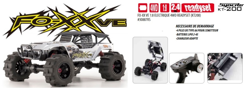 Crawler Kyosho Foxx VE Foxx11