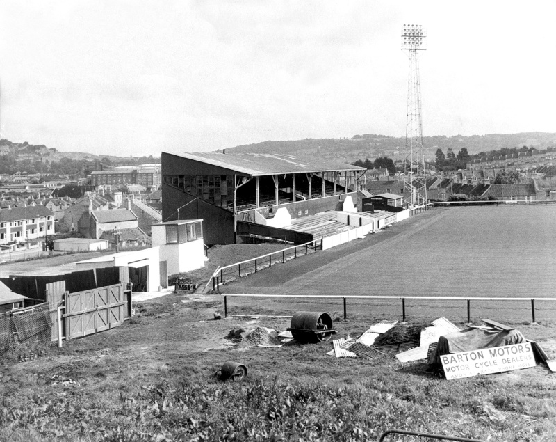 When was terracing installed at the Bristol End? - Page 2 Bath_c10