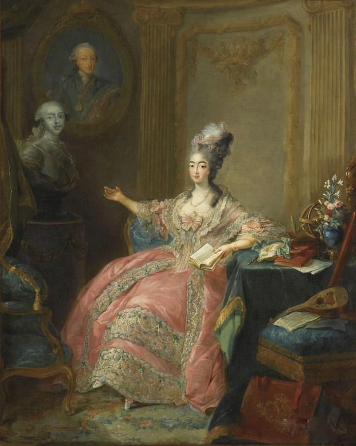 Portraits du comte d'Artois ou du comte de Provence par Van Loo ? Comtes11