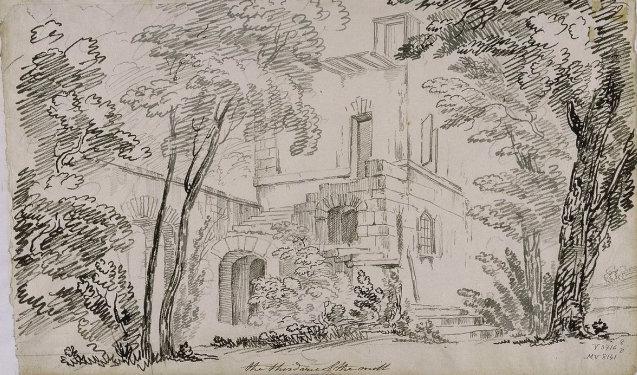 Le moulin du Hameau du Petit Trianon Vers_h10