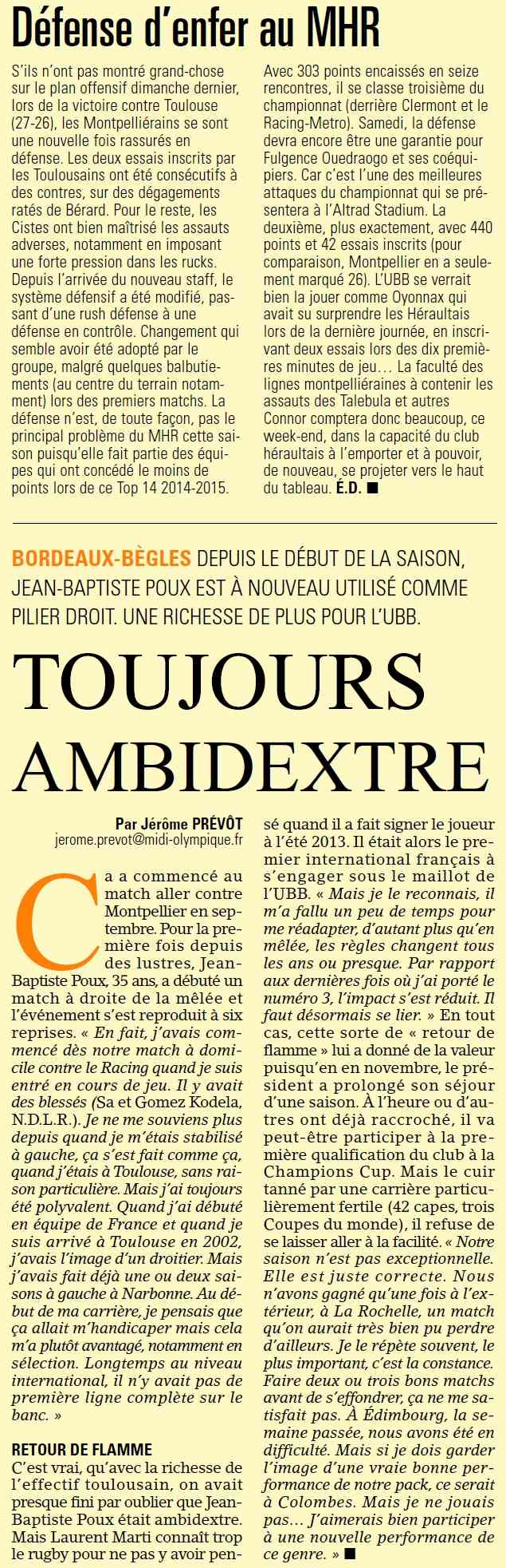 TOP14 - 17ème journée : Montpellier / UBB - Page 2 Sans_t45