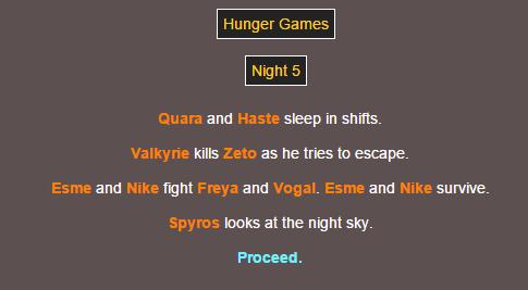 Sotu Hunger Games Simulation~ 1110