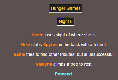Sotu Hunger Games Simulation~ 1310