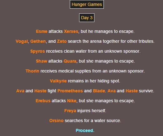 Sotu Hunger Games Simulation~ 610