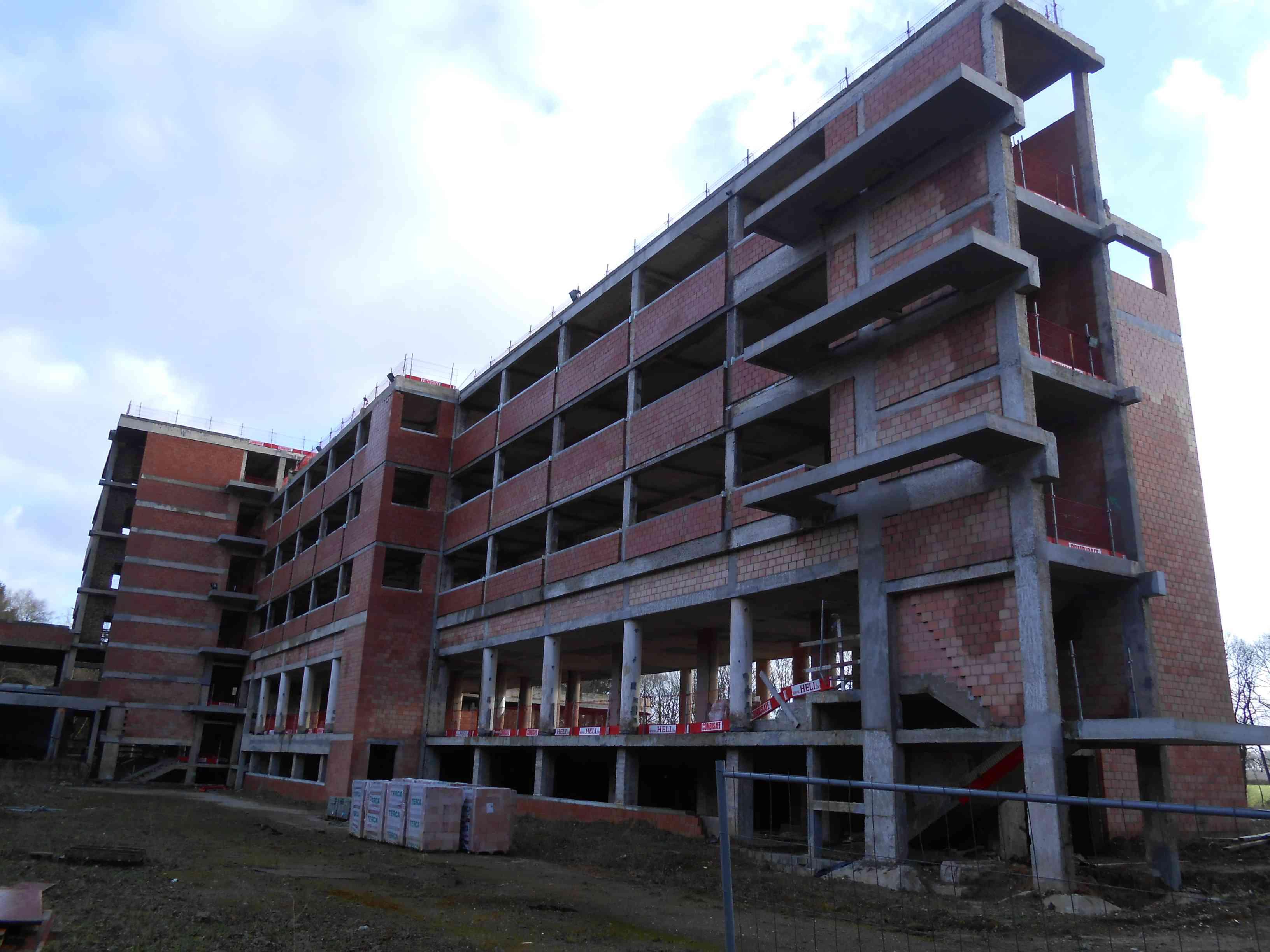 7 = Enquête du GRPW au sanatorium de Tombeek le 11 janvier 2015 / Impossible d'entrer Dscn8713