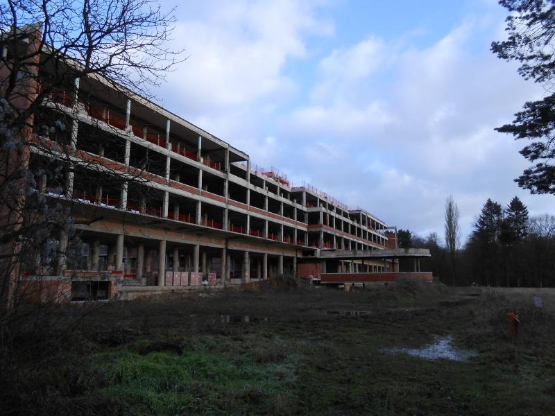7 = Enquête du GRPW au sanatorium de Tombeek le 11 janvier 2015 / Impossible d'entrer Dscn8719