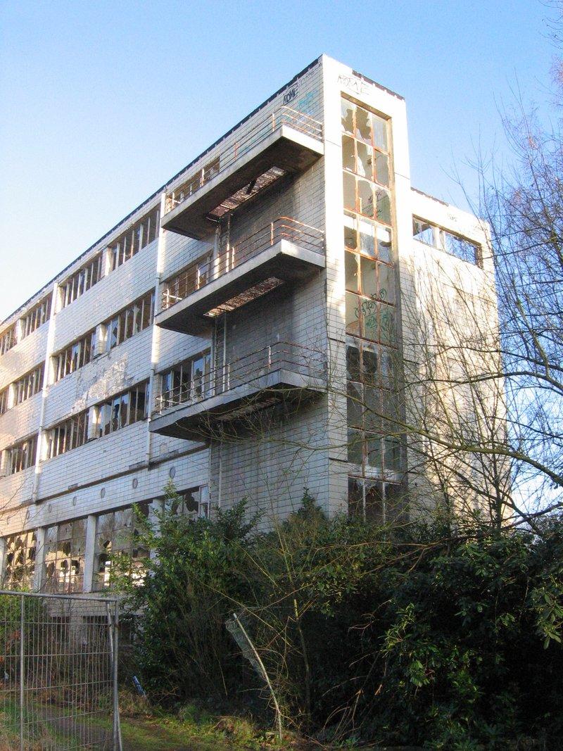 7 = Enquête du GRPW au sanatorium de Tombeek le 11 janvier 2015 / Impossible d'entrer Sanato10