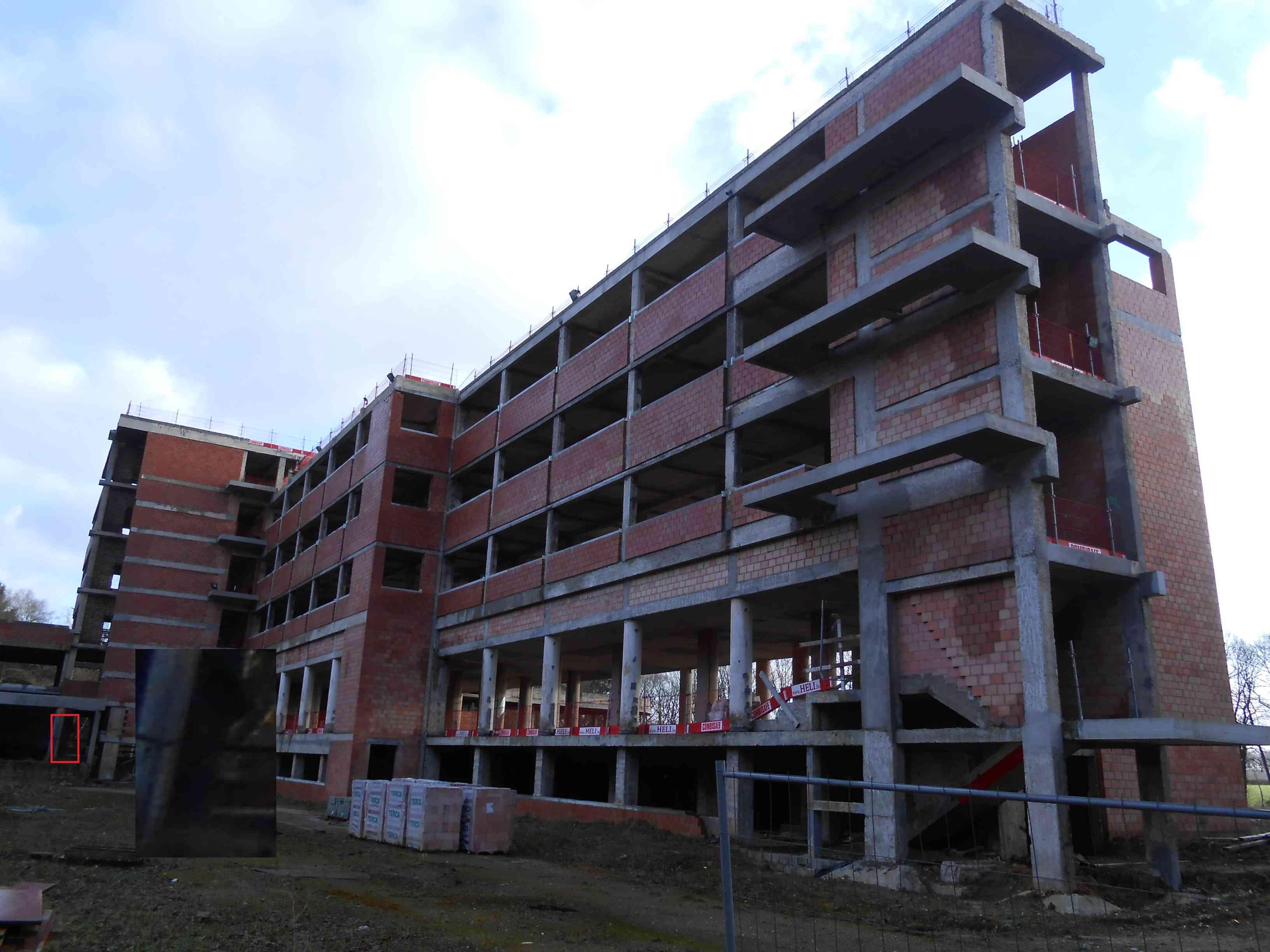 7 = Enquête du GRPW au sanatorium de Tombeek le 11 janvier 2015 / Impossible d'entrer Tombee10