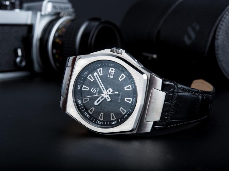 Enfin une vraie montre sur Kickstarter...  [Seals] Model-10