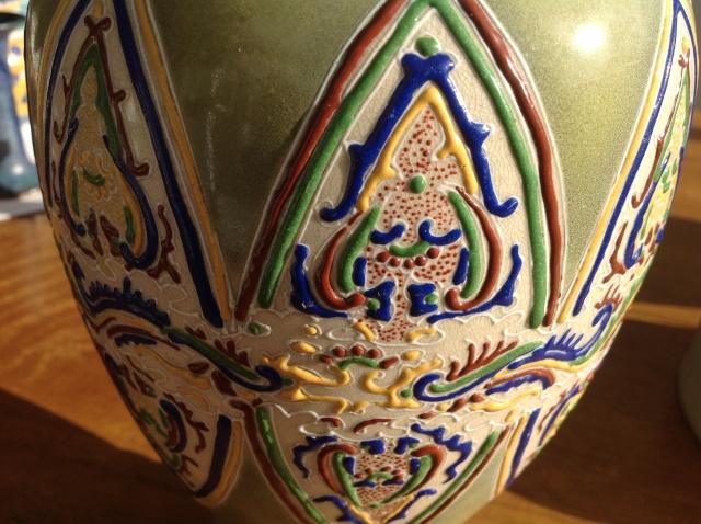 Fish vase chinese/japanese? 2015-082