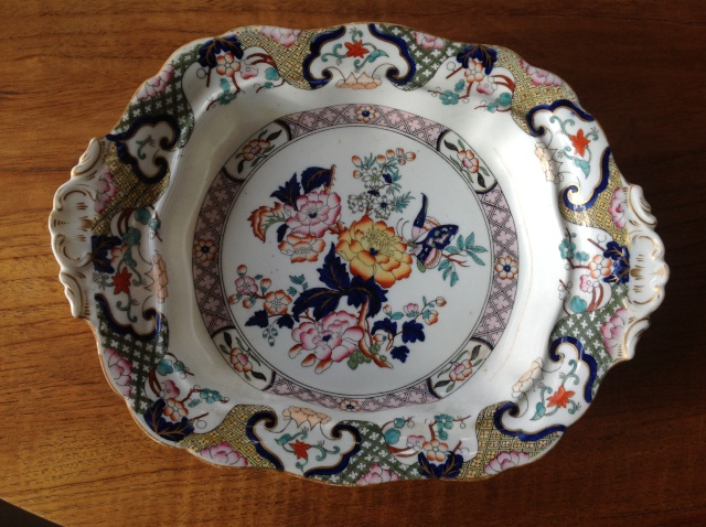 Porcelain dish plate chinese? 2015-086