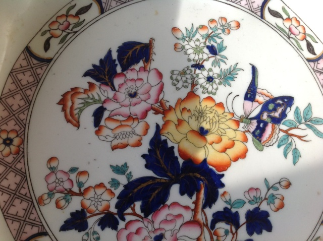 Porcelain dish plate chinese? 2015-087