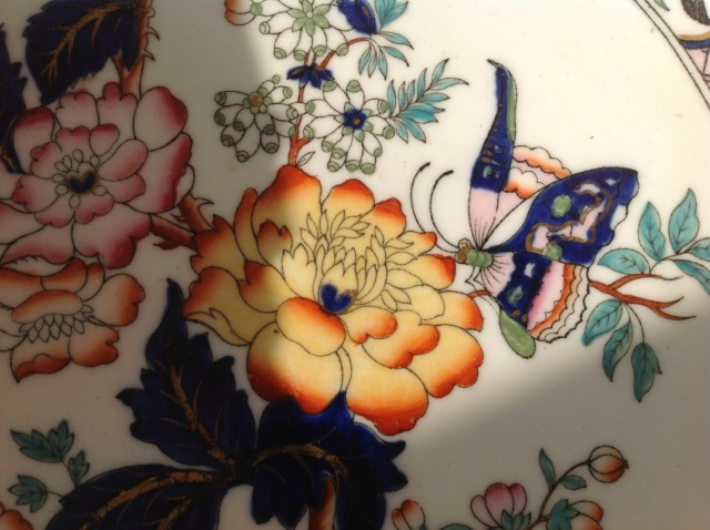 Porcelain dish plate chinese? 2015-089