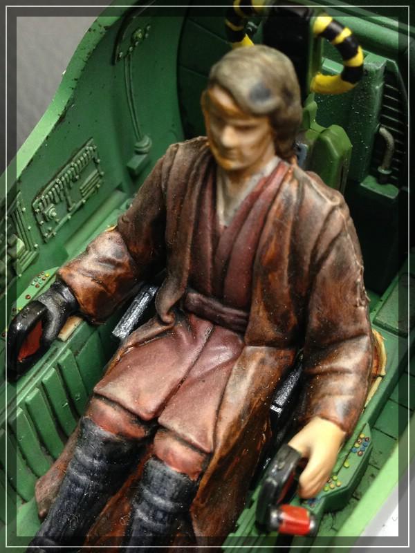 Star Wars Jedi Starfighter von Revell (ca. 1/35) Comp_i45