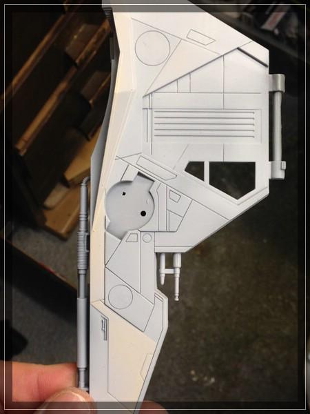 Star Wars Jedi Starfighter von Revell (ca. 1/35) Comp_i48