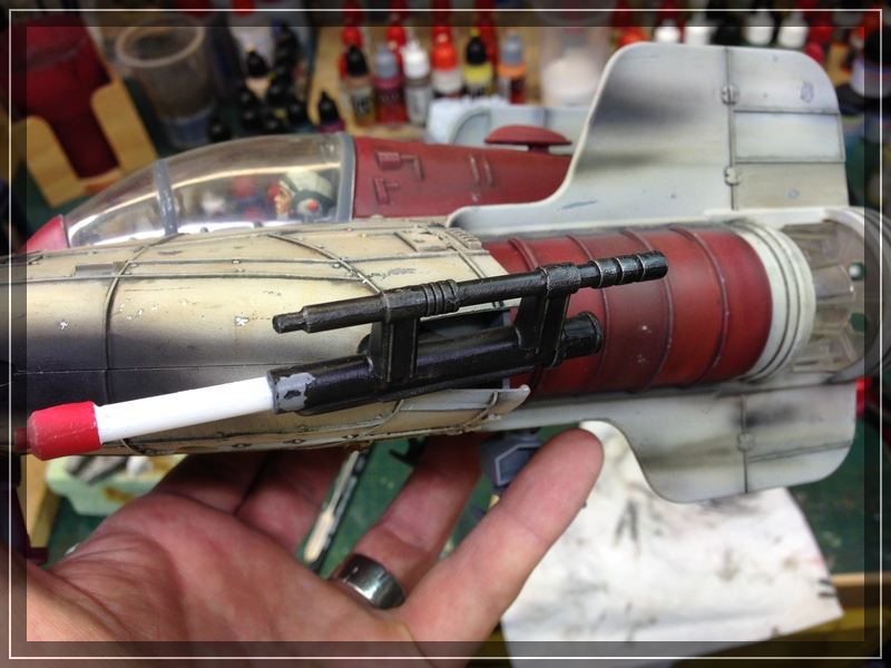 Star Wars A-Wing (Hasbro) Umbemalung Comp_i78