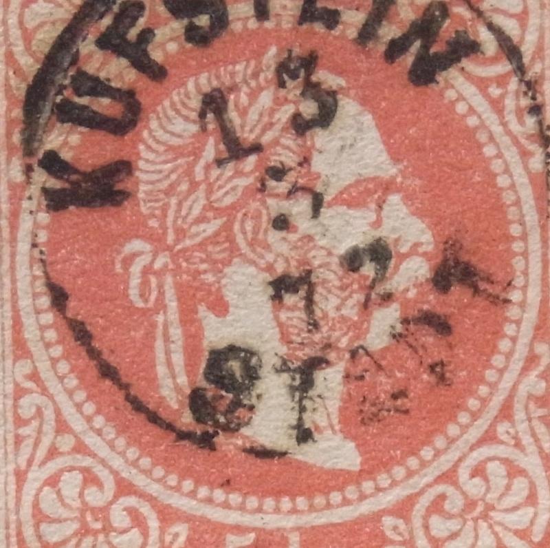 Freimarken-Ausgabe 1867 : Kopfbildnis Kaiser Franz Joseph I - Seite 8 Ank_3710