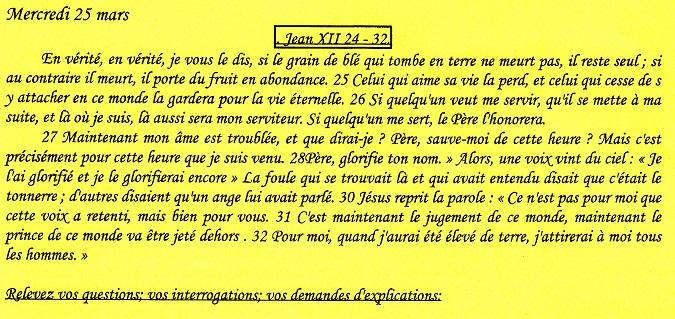 Textes des rencontres oecuméniques Tu150218