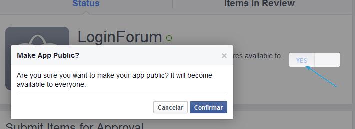 facebook - Facebook connect Step310