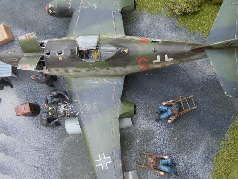 ME 262 equipage au repos, maintenance 1/48 Tamigawa  Dscf2810