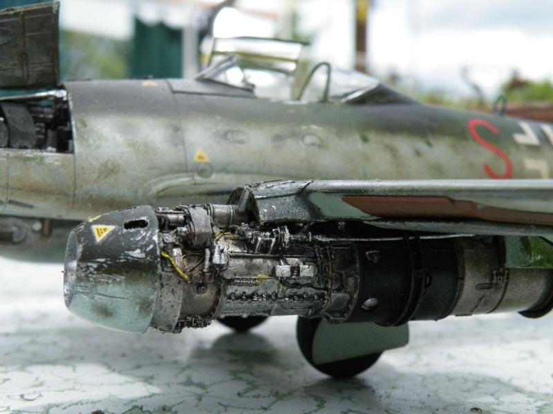 ME 262 equipage au repos, maintenance 1/48 Tamigawa  Dscf2812