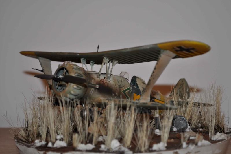 henschel 123 abandonné dans les steppes de russie Hensch11