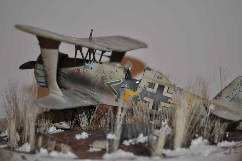 henschel 123 abandonné dans les steppes de russie Hensch12