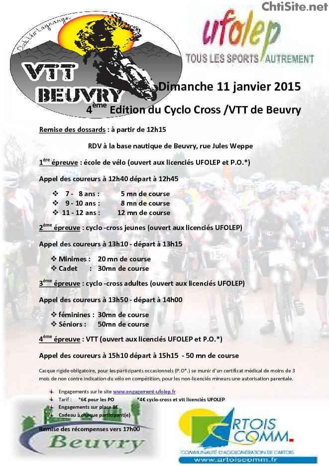 4ième édition du Cyclo Cross / VTT de Beuvry ( 62 ) 4iyme-10