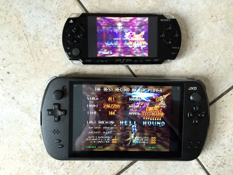 Tablette Retrogaming Jxd1010
