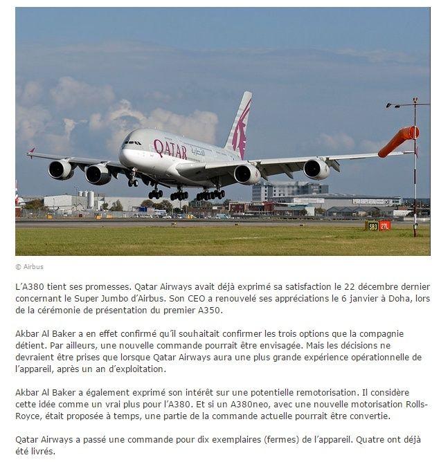 News Aéronautique Quatar10