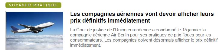 News Aéronautique Voyage10