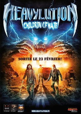 "HEAVYLUTION   ""Children of Hate""   (FEV 2015) 10246510"