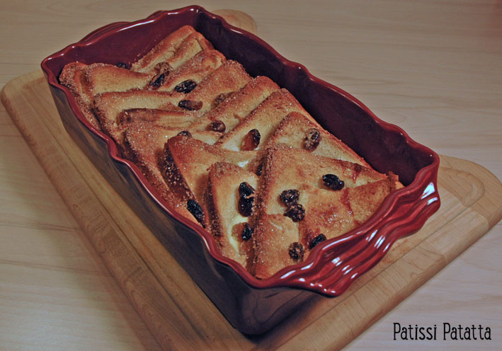 Bread and butter pudding (GB) Bread-11