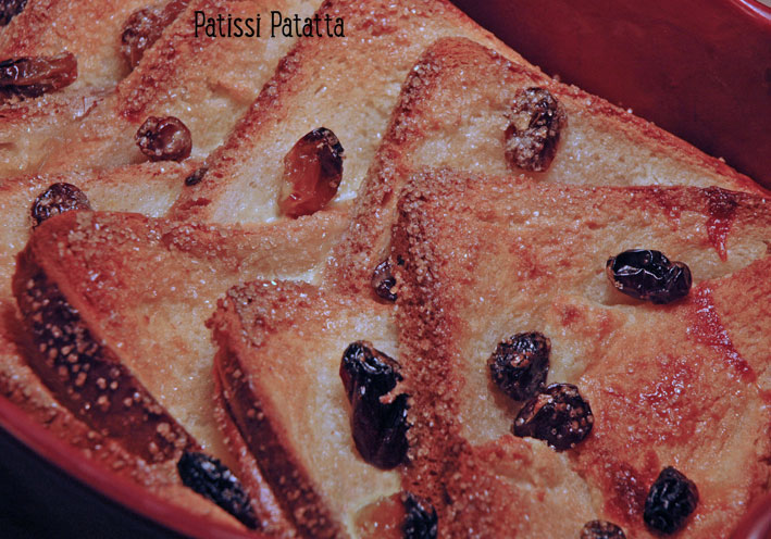 Bread and butter pudding (GB) Bread-12