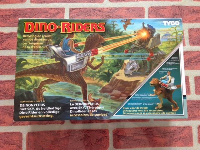 dino riders - DINO RIDERS DEINONICUS MIB GIG - € 90 Deinon10