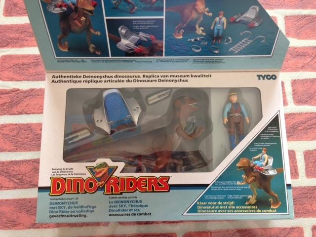 dino riders - DINO RIDERS DEINONICUS MIB GIG - € 90 Deinon11