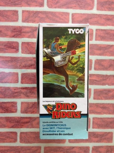 dino riders - DINO RIDERS DEINONICUS MIB GIG - € 90 Deinon15