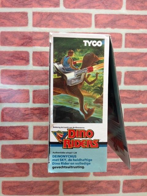 dino riders - DINO RIDERS DEINONICUS MIB GIG - € 90 Deinon16