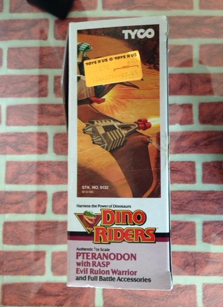 DINO RIDERS PTERANODON MIB TYCO - € 120 Ptera_15