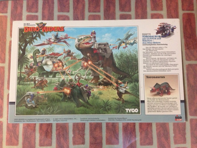 dino riders - DINO RIDERS TOROSAURUS MIB TYCO - € 220 Toro_210