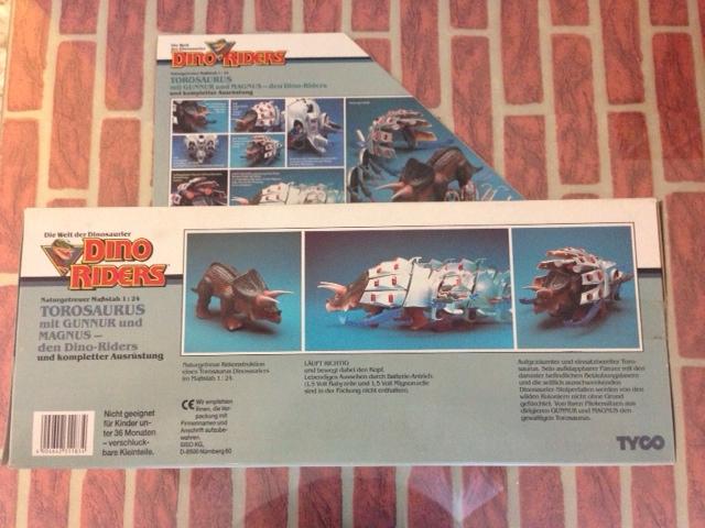 dino riders - DINO RIDERS TOROSAURUS MIB TYCO - € 220 Toro_410