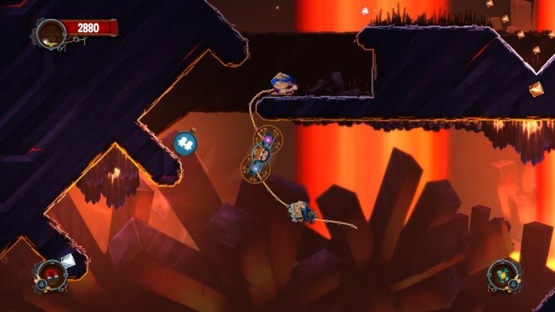 Review: Chariot (Wii U eShop) Acroba10